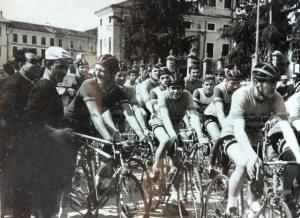Partenza del Gran Premio per allievi di Montecchio Maggiore (VI)
