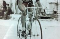 Lino Farisato impegnato in una cronometro