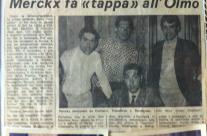 Farisato, Tumellero, Massignan e Merckx