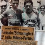 Farisato Lino (a destra) 2° nella Milano-Pertus