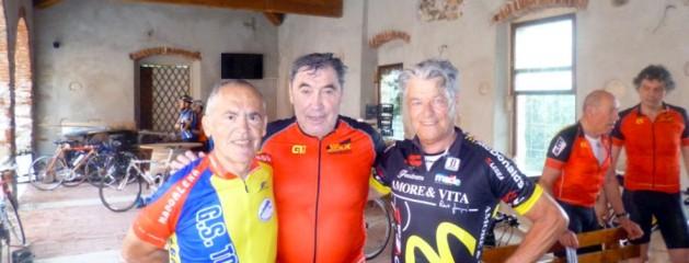 Lino Farisato al Granfondo Eddy Merckx 2015