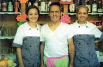 Silvia, Lino e Michela Farisato