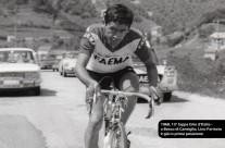 Lino Farisato vincitore tappa Falcade-Pontedilegno al Giro d'Italia nel 1968