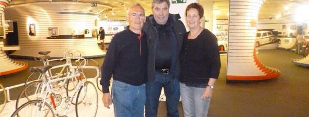 Lino Farisato alla mostra di Eddy Merckx 2015