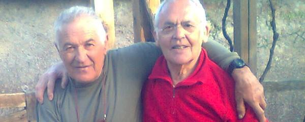Lino Farisato in visita a Roberto Ballini